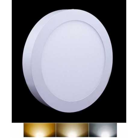 Downlight Panel LED Superficie Redondo Circular 6W 3000K 4000K 6000K