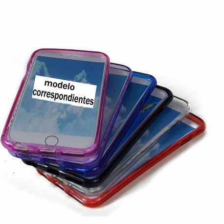 FUNDA Silicona Gel Tpu Mate Para Iphone (TODO LOS MODELOS )