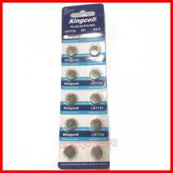 Pilas de boton KINGCELL AG 8 en blister