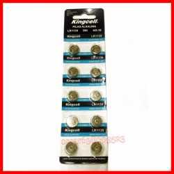 Pilas de boton KINGCELL AG 9 en blister