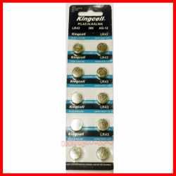 Pilas de boton KINGCELL AG 12 en blister