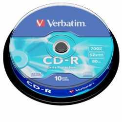 Verbatim Datalife CD-R 52x Bobina 10 Unds